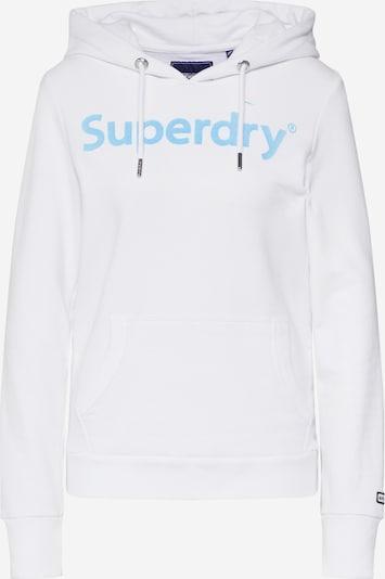 Superdry Majica | modra / bela barva, Prikaz izdelka