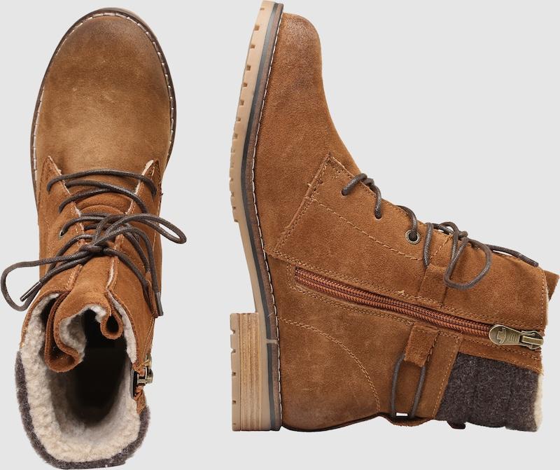 TOM TAILOR Gefütterte Schnürstiefelette Verschleißfeste billige Schuhe