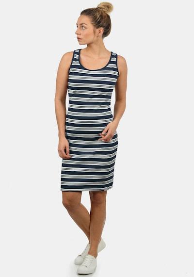 Desires Jerseykleid 'Rahile' in nachtblau / weiß, Modelansicht