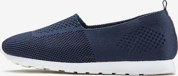 LASCANA Slip on -tennarit värissä sininen