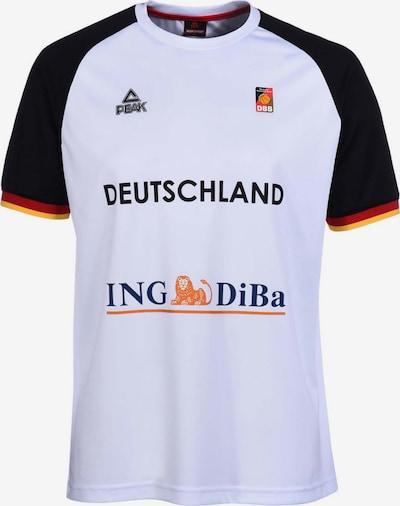 PEAK Shooting 'Shirt Germany 2016' in mischfarben / weiß, Produktansicht