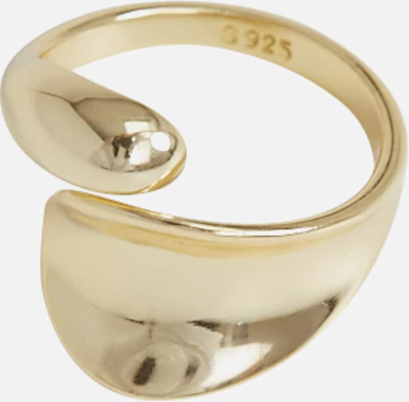 EDITED Ring 'Vance' in gold, Produktansicht