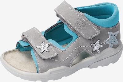 Pepino Sandale 'Kittie' in hellblau / grau, Produktansicht