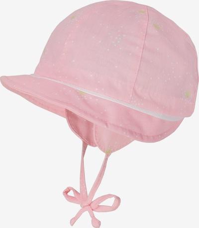 MAXIMO Schirmmütze in apfel / rosa / weiß, Produktansicht