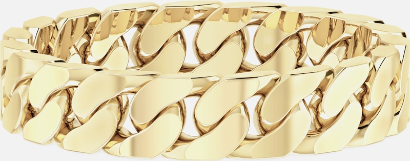 ID Fine Ring 'Curb Chain' in gold, Produktansicht