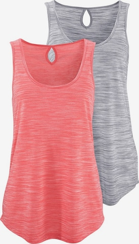 BEACH TIME Top in Grey