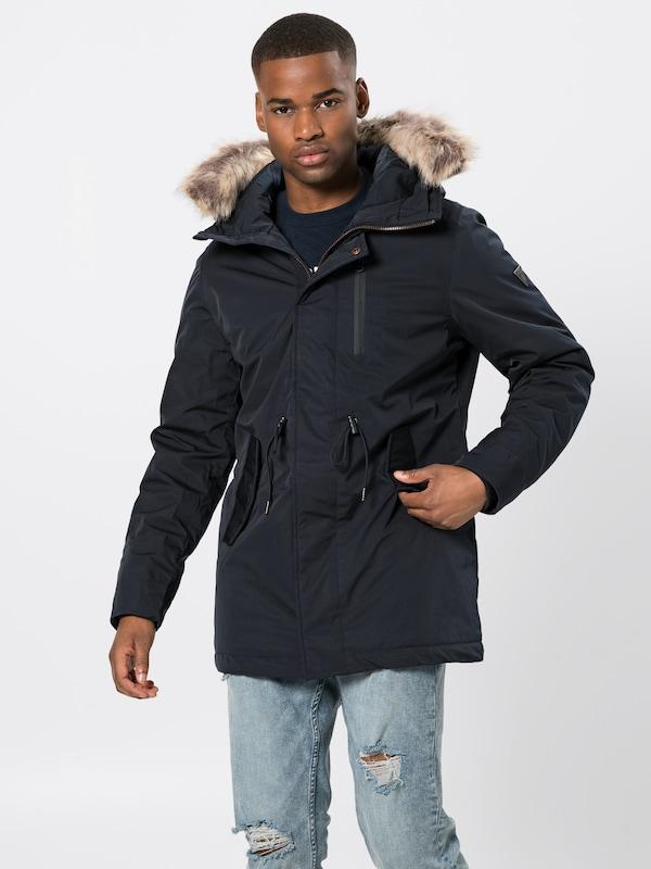 En 'jackets' Bleu Foncé Funky Parka Buddha D'hiver HD92IE