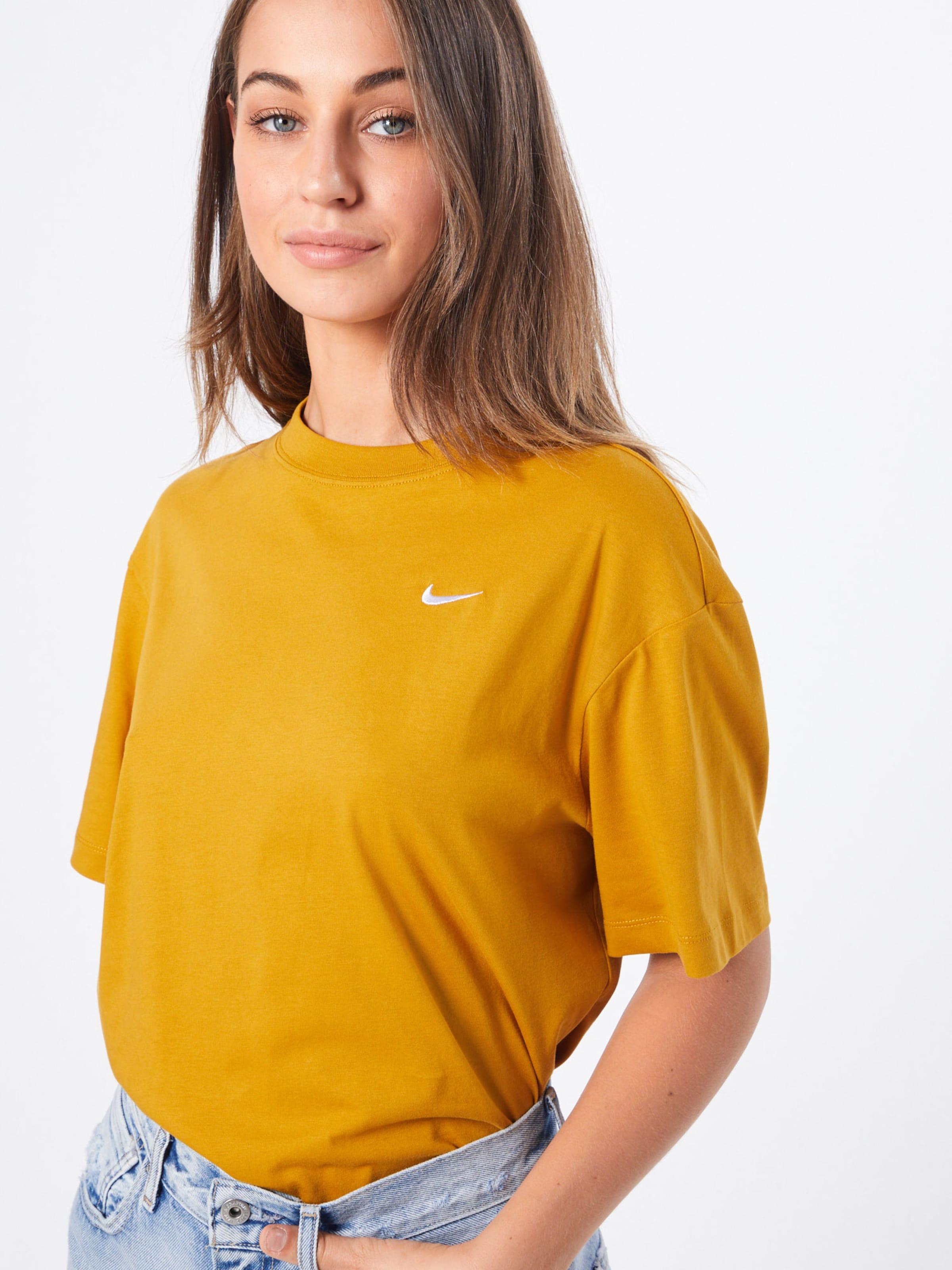 In Nike Sportswear Shirt 'essntl' Goldgelb tsrdhCQ