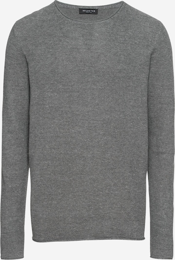 SELECTED HOMME Pullover 'ROCKY' in hellgrau, Produktansicht
