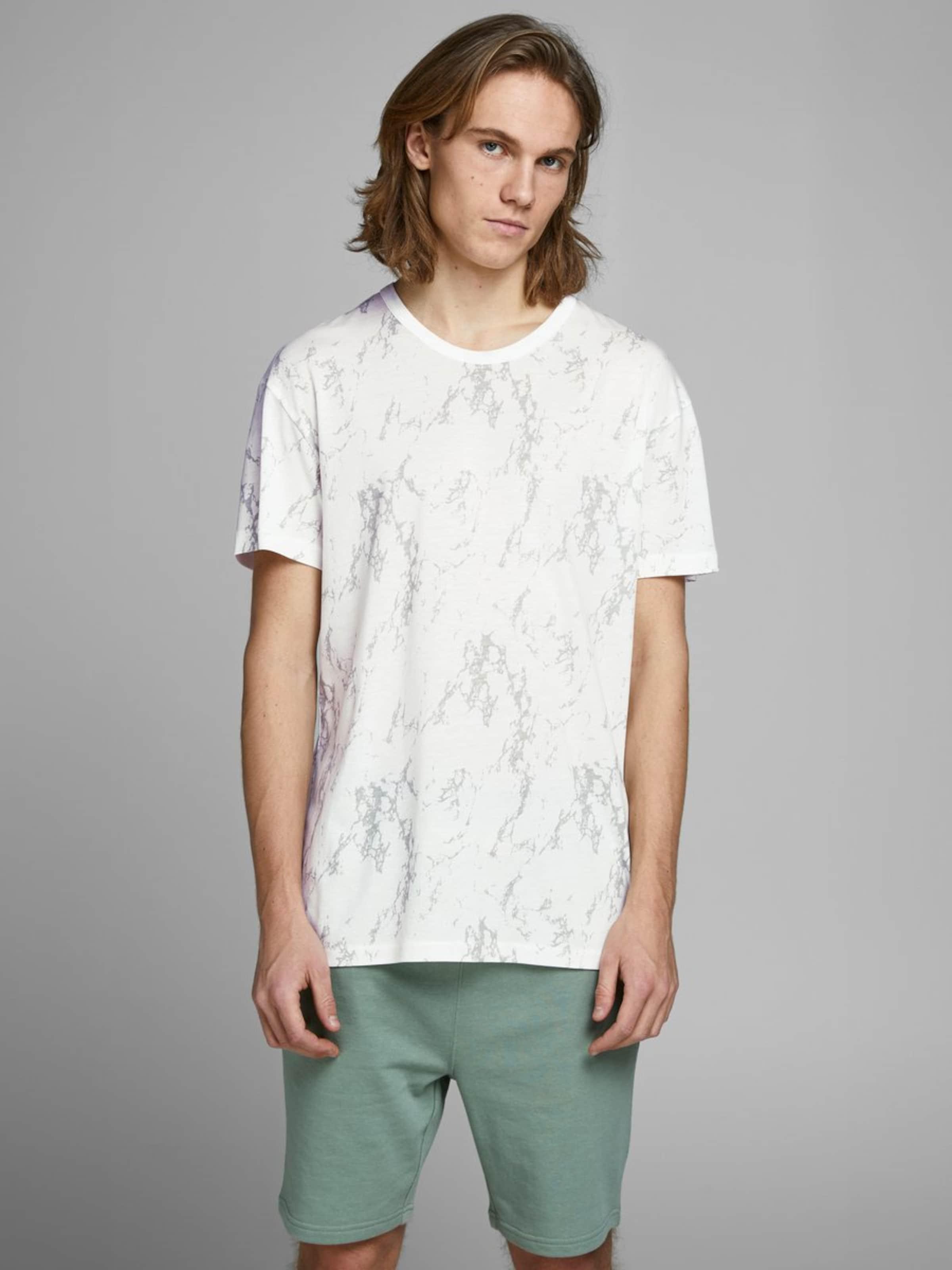 Jones In Jackamp; HellbeigeWeiß T shirt K1cTJlF3
