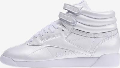 Reebok Classic Sneaker 'F/S Hi Iridescent' in weiß: Frontalansicht