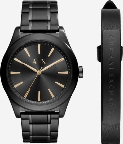 ARMANI EXCHANGE Uhr in schwarz, Produktansicht