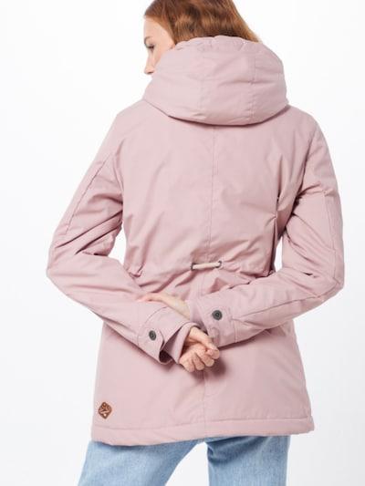 Žieminė striukė 'MONADIS' iš Ragwear , spalva - rožinė: Vaizdas iš galinės pusės