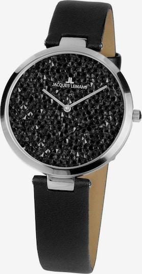 Jacques Lemans Uhr 'Milano' in schwarz / silber, Produktansicht