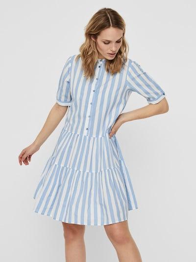 VERO MODA Košeľové šaty - svetlomodrá, Model/-ka