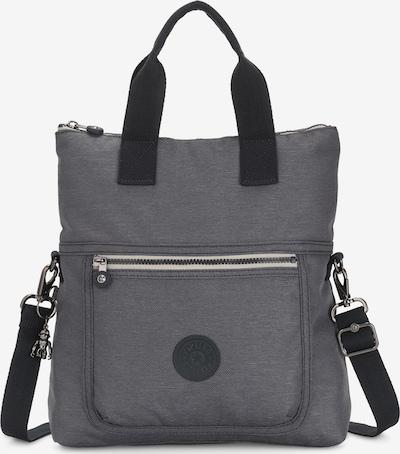 KIPLING Handtasche 'Peppery Eleva' in graumeliert / schwarz, Produktansicht