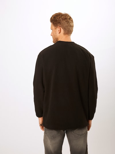 Megztinis be užsegimo 'Polar' iš Urban Classics , spalva - juoda: Vaizdas iš galinės pusės