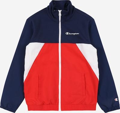 Champion Authentic Athletic Apparel Sweatshirt in blau / hellrot / weiß, Produktansicht