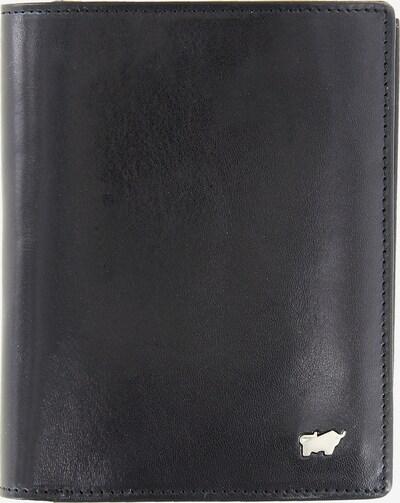Braun Büffel Portemonnee 'Gaucho' in de kleur Zwart: Vooraanzicht