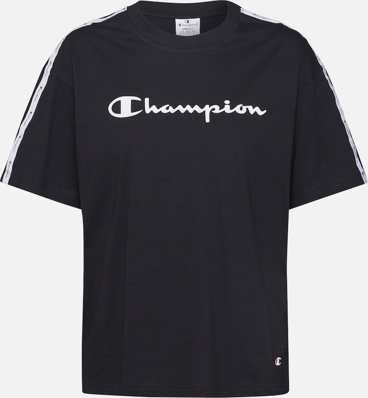 Champion Authentic Athletic Apparel T-Shirt in schwarz, Produktansicht