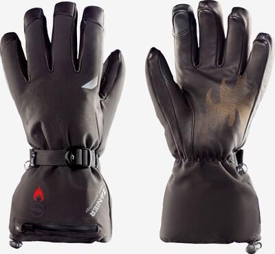 Zanier Handschuhe in orange / schwarz, Produktansicht