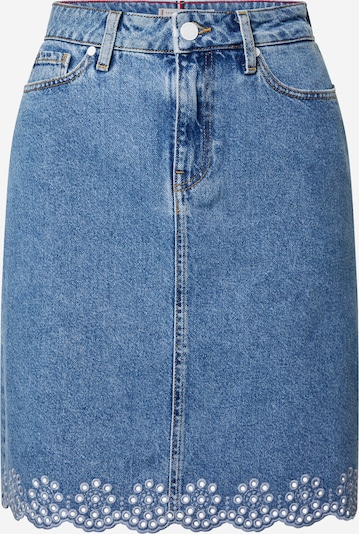 TOMMY HILFIGER Rok 'PATTY' in de kleur Blauw denim, Productweergave
