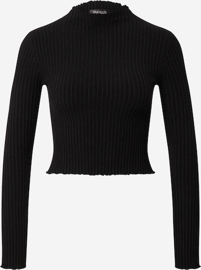 Parallel Lines Pullover in schwarz, Produktansicht