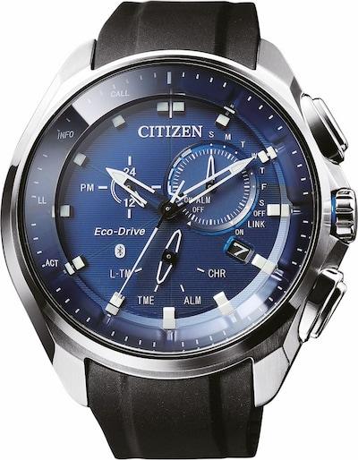 CITIZEN BZ1020-14L Smartwatch in schwarz / silber, Produktansicht