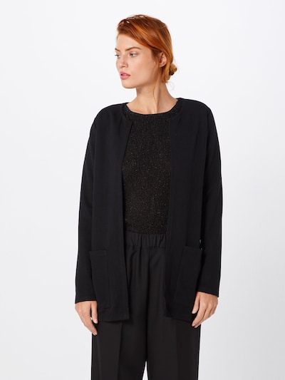 JACQUELINE de YONG Cardigan in schwarz, Modelansicht