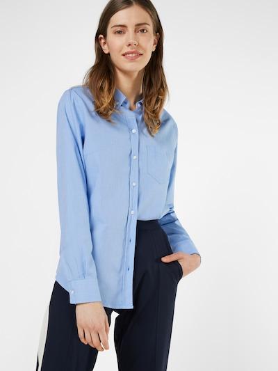 GAP Klassische Bluse in hellblau, Modelansicht