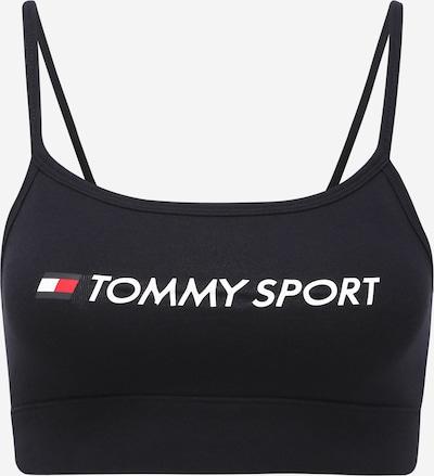 Tommy Sport Biustonosz sportowy w kolorze niebieska noc / białym, Podgląd produktu