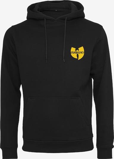 Mister Tee Hoody 'Wu-Wear' in gelb / schwarz, Produktansicht