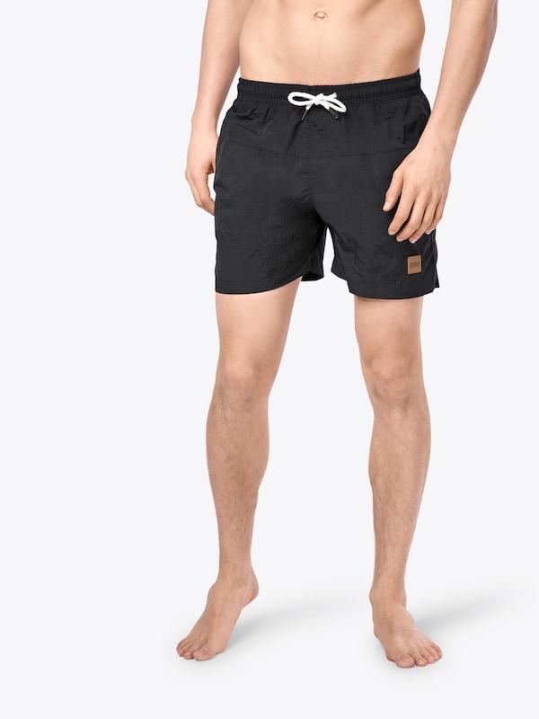 Urban Classics Badeshorts 'Block Swim Shorts'