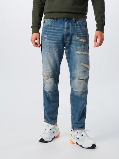 G-Star RAW Jeansy '5620 3D Original Relaxed tapered' w kolorze niebieski denimm, Podgląd na modelu(-ce)