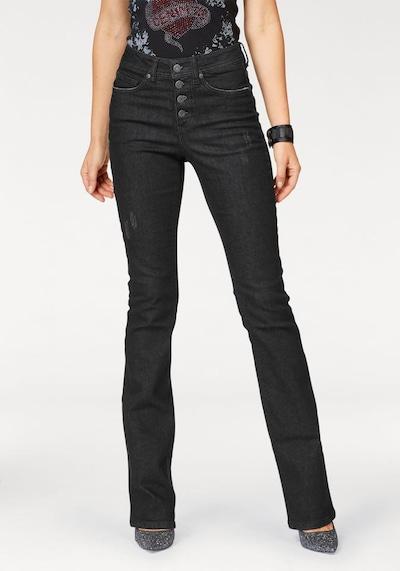 ARIZONA Bootcut-Jeans in schwarz, Modelansicht