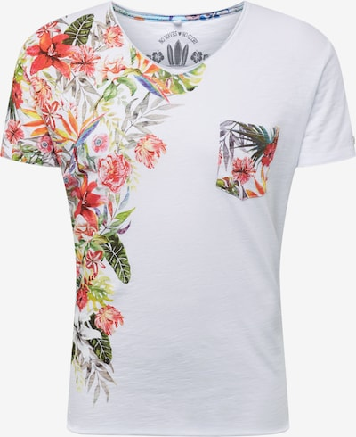 Key Largo T-Shirt 'BABYLON' en blanc: Vue de face