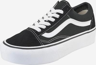 VANS Baskets basses 'Old Skool Platform' en noir / blanc, Vue avec produit