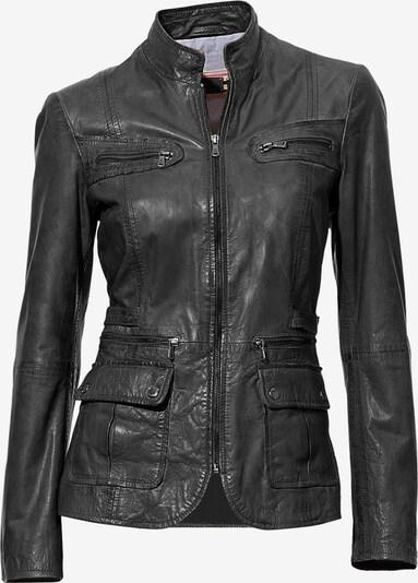 heine Lederjacke aus Lammnappa in schwarz, Produktansicht