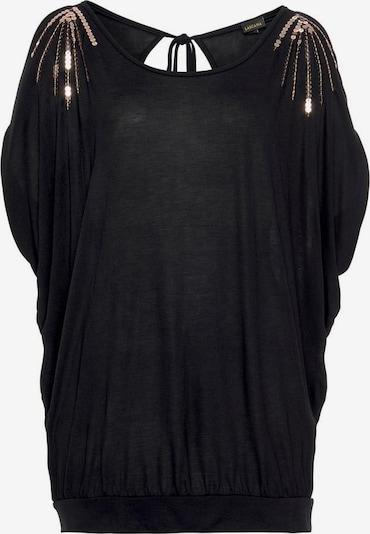 LASCANA Koszulka w kolorze czarnym, Podgląd produktu