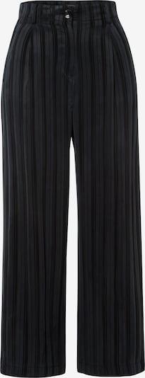 MORE & MORE Culotte in schwarz / schwarzmeliert: Frontalansicht