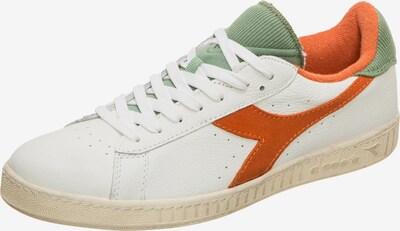 Diadora Sportschoen 'GAME L LOW USED' in de kleur Lichtgroen / Sinaasappel / Wit, Productweergave