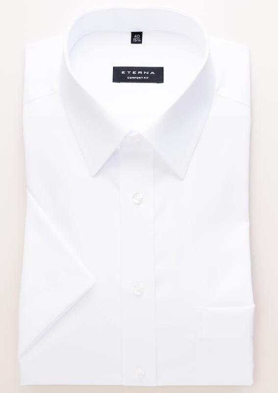 Eterna Short Sleeved Shirt Comfort Fit