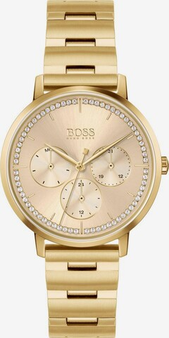 BOSS Casual Analog Watch 'PRIMA' in Gold