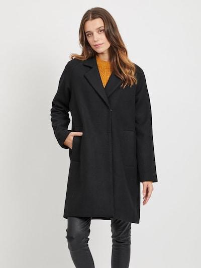 OBJECT Mantel 'ZAMORA COAT 104' in schwarz, Modelansicht