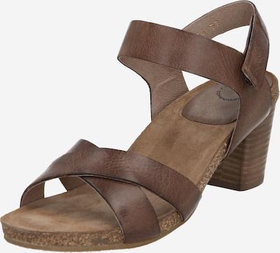 Ca Shott Sandale in dunkelbraun, Produktansicht