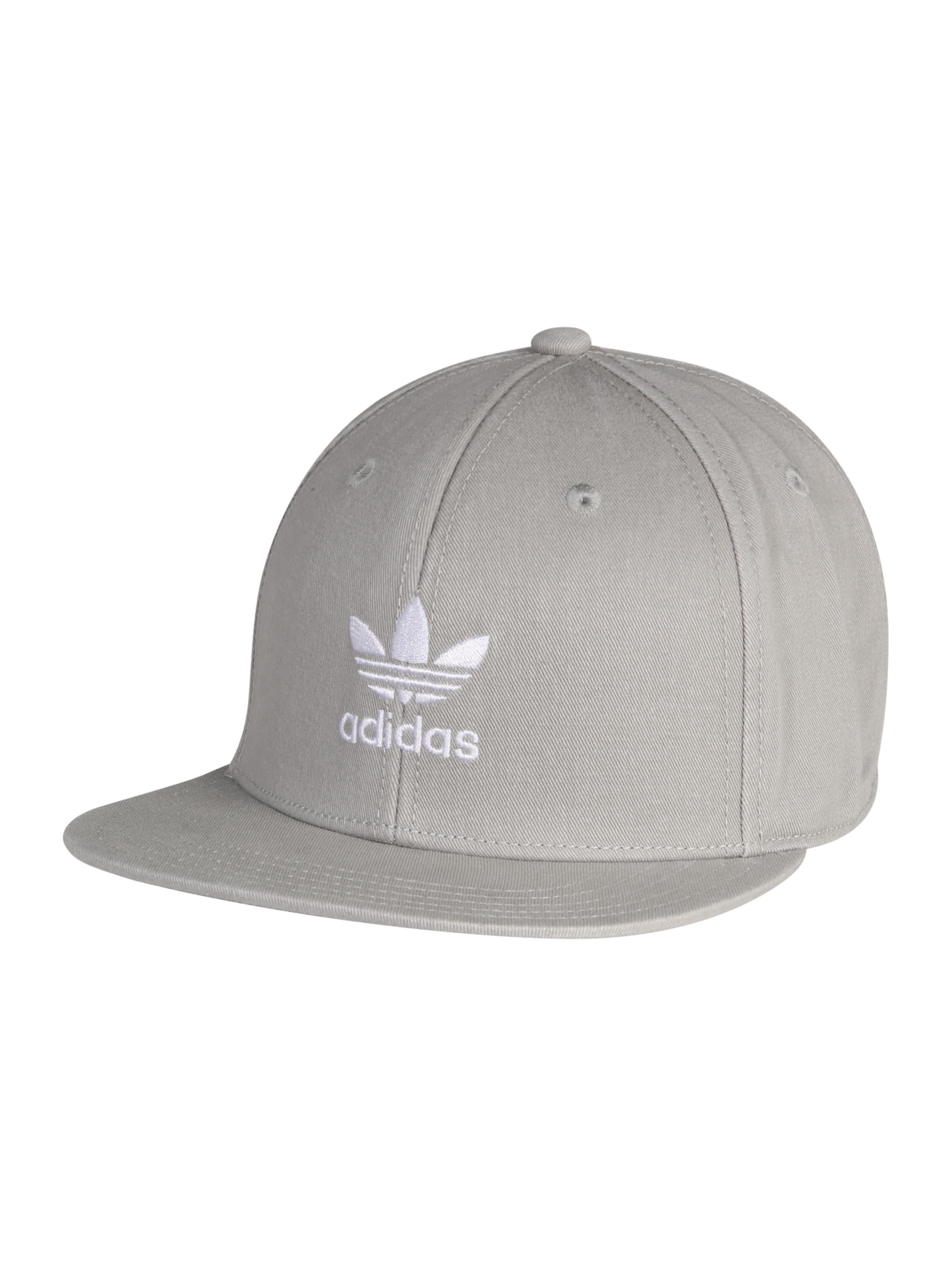 Hellgrau Originals Cap 'ac Adidas Tre In Flat' CodBWrxe