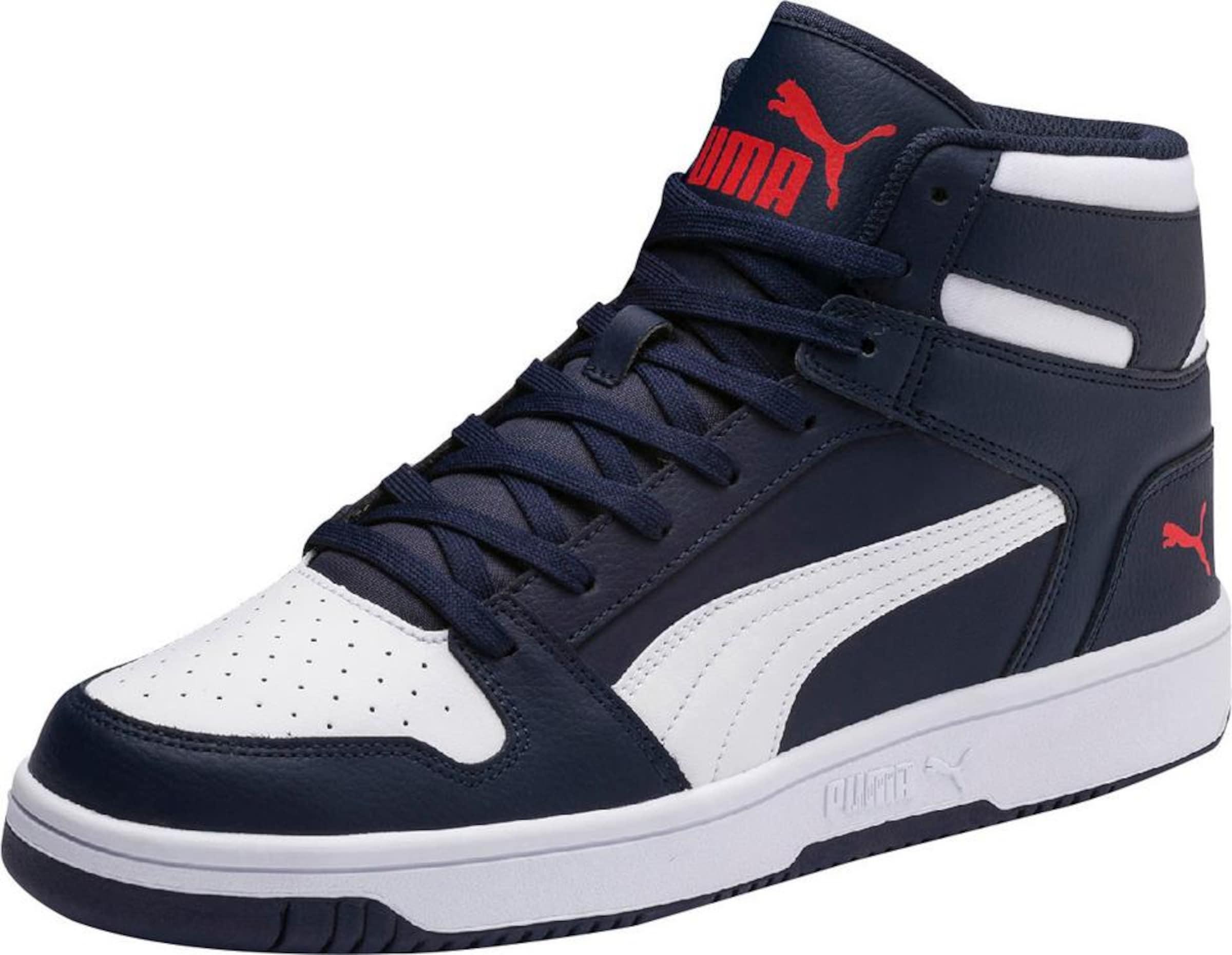 In Puma NavyRot Weiß Layup 'rebound L' Sneaker trdshQ