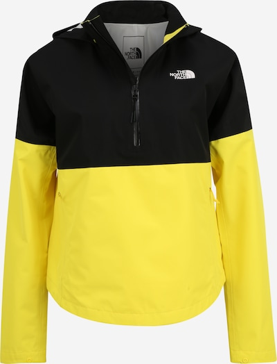 THE NORTH FACE Veste outdoor 'ARQUE' en jaune / noir, Vue avec produit