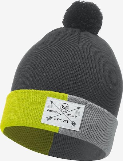BUFF Mütze in grau / dunkelgrau / apfel, Produktansicht