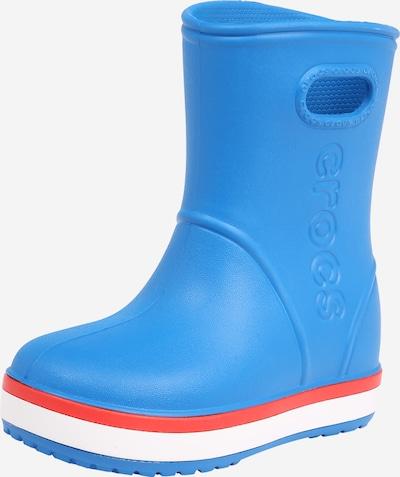 Crocs Bottes en caoutchouc 'Crocband Rain K' en bleu clair / orange / blanc, Vue avec produit